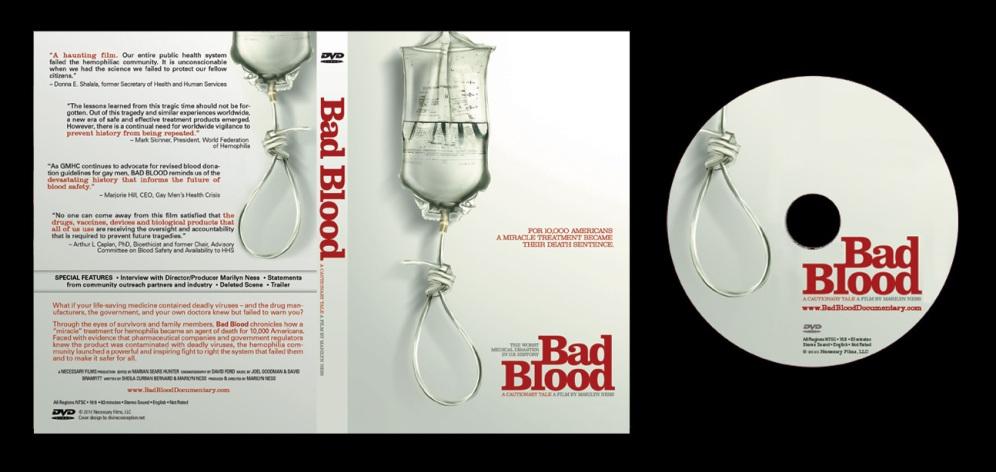 Bad Blood - Box Art and On-Disc Art