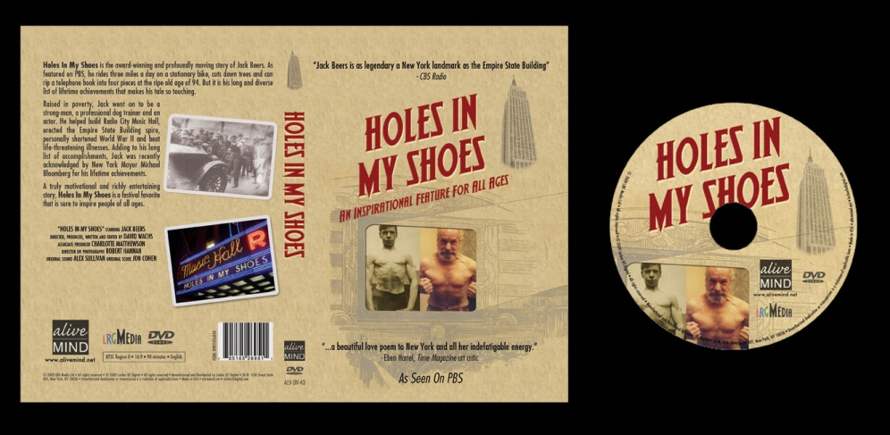 Holes In My Shoes - Box Art and On-Disc Art
