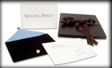 Invite for Bridal Designer Melissa Sweet