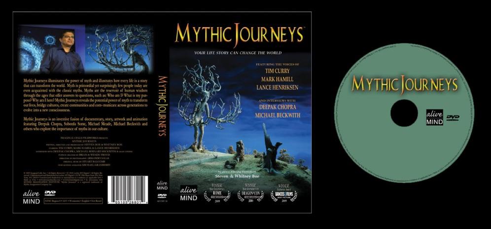 Mythic Journeys - Box Art and On-Disc Art