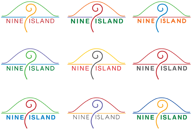 NineIsland_logo_options