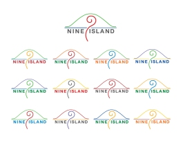 Number 9 Island Logo