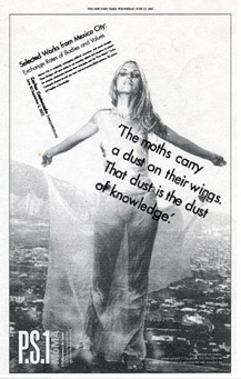 NY Times Ad for P.S.1