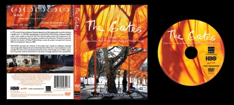 The Gates (A Film By the Maysles Brothers) - Box Art and On-Disc Art