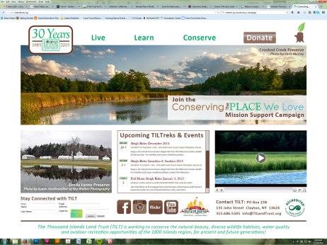 2015 TILT Homepage Redesign