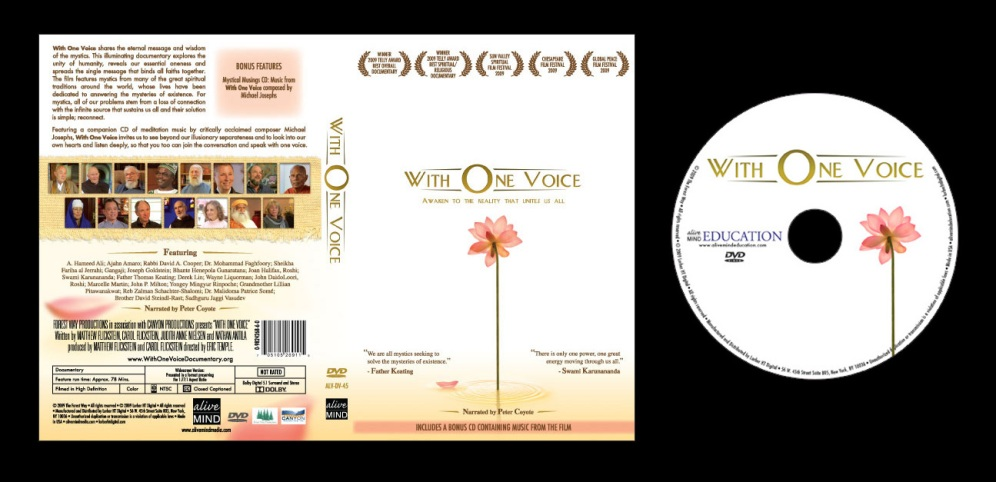 With One Voice - Box Art and On-Disc Art