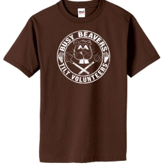 "Kids ""Busy Beaver"" Volunteer Shirt"