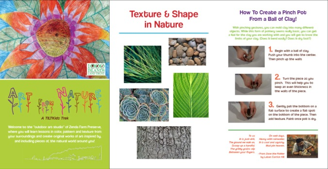"""Art from Nature"" KidsTrek Booklet"