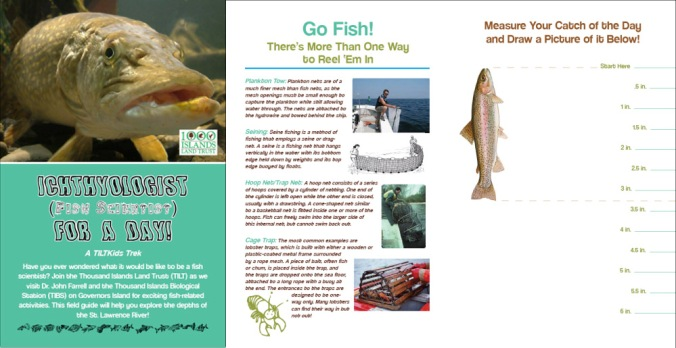 """Ichthyologist (Fish Scientist) For a Day"" KidsTrek Booklet"