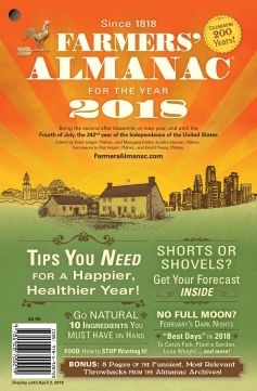 Cover redesign of 200-year-old Farmer's Almanac