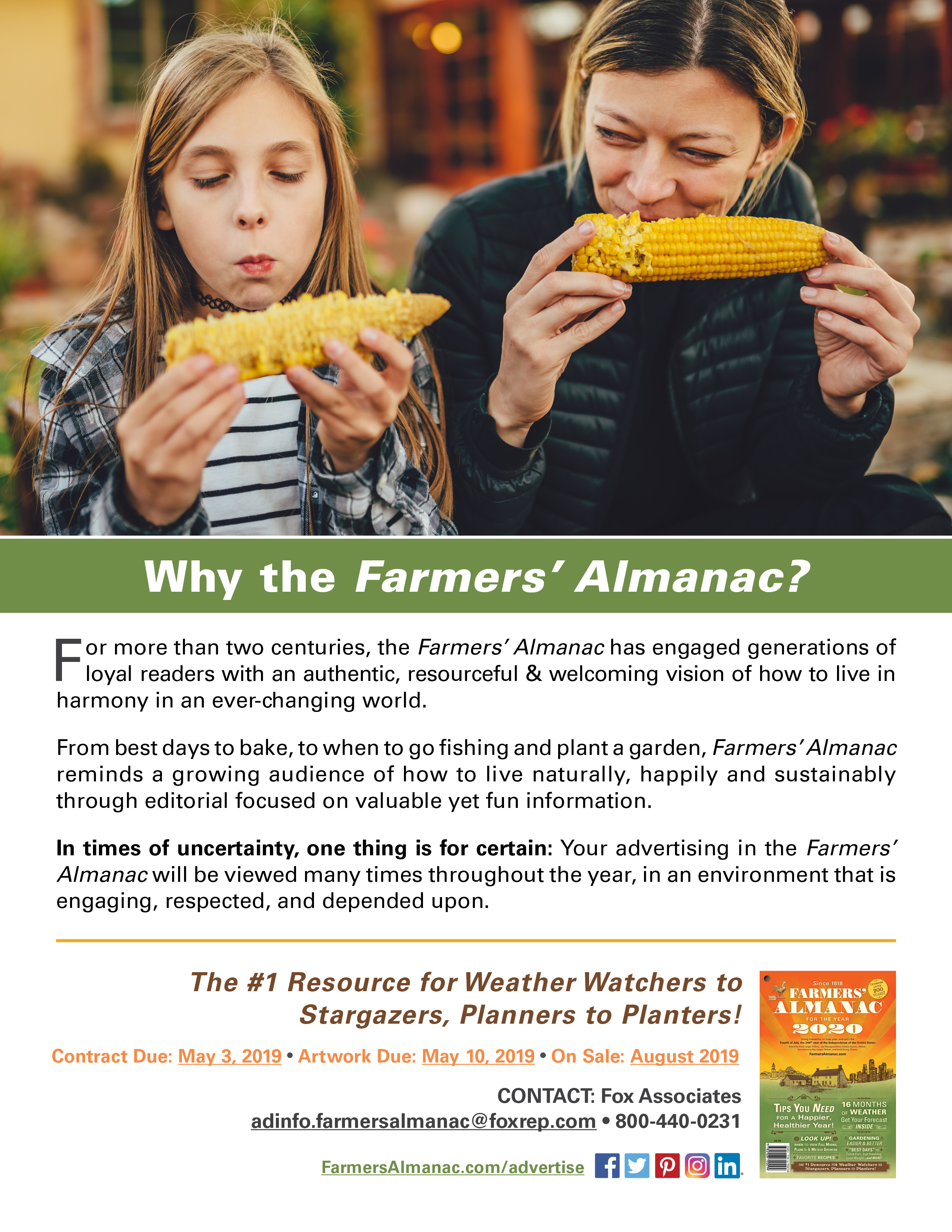 Farmers Almanac Weather 2020